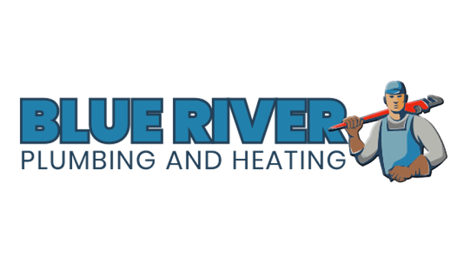 blue river plumbing and heating logo