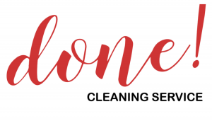 done cleaning logo