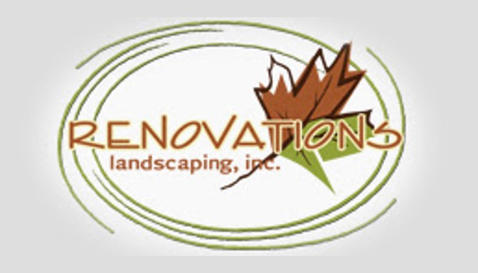 renovations landscaping logo