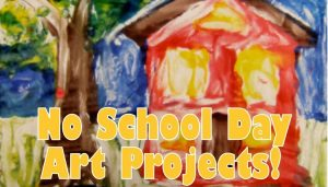 no school day art projects graphic